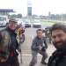 ...while we haven´t met many bikers so far, it seems to be Martin´s lucky day, meeting two independently at a gas station in the course of half an hour..
