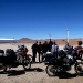 Meeting argentinian riders at the border crossing to Chile