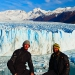 At the breathtaking Perito Moreno glaciar close to Calafate...this wonder of nature is 70m high and a couple of kilometres long! 