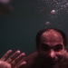 Our new armenian friend asked Sebastian to take a picture under water
