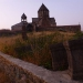 The beautiful cathedral Gandzasar on top of a mountain