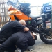 Teamwork is everything - in Chillan where the KTM guys fix Martins sensor