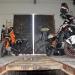 Parking the bikes in Sarajevo 3