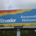 Arriving in Ecuador - unfortunately we only have a couple of days to stay here...