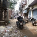 In the streets of Amritsar... its not fun with the motorrcycle