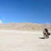 On the way to the Pangong lake we drive next to a mountain desert...didn´t waste much thought to decide to go offroad :-)