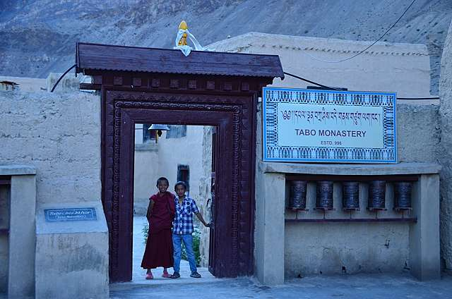 Tabo monastery, one of the oldest buddhist monasteries of the world, dating back to 996 AD