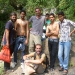 On the way to a waterfall close to Rishikesh some young guys ask us to take pictures with them