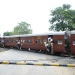 India at it\'s best. Shortly before we cross border we have to let this train pass which presents a perfect and very typical picture of India!