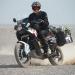 Sebas doing some drifting in the desert