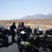 On our way to Kerman we can´t believe our eyes: we meet Fabian and Janine from Switzerland, also travelling by bike