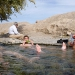 Chilling out in a small water baisin in the middle of the desert. Not to bad I\'d say :)