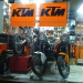 Our friends from KTM were so nice to let us park our bikes in the workshop