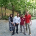 Omid and his friend Paloma show us around in a park in the north of Teheran