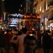 Nightlife in the area around the Taksim tower