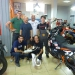 Group picture at the KTM dealer