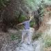 Sebastian fighting his way trough the love valley jungle