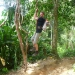 Tarzan 2012... shortly before the  liana broke :-)