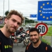 And there we are, crossing the boarder to Austria! It\'s almost done, we are almost there :)
