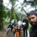 ...raining again. Had been easy to drive into the jungle...