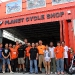 Good bye pic with the incredible KTM Team, who really helped us a lot...