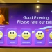 At the airport you can give feedback to the cleaning staff.. nice idea