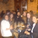 A night out with friends from the language school..