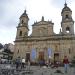 and the plaza Bolivar