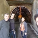 With Eva, Xavi and Jan on the way down to the Mine Cathedral