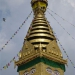 The Swayambunath Stupa in Kathmandu.. also called the monkey tempel, incredible how similar they are to humans..