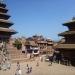 The impressive Durbar Square of Bakthapur