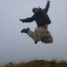 ...and a guest jump by Anna from New Zealand, who accommpanied us for the hike