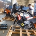 Back in Bangkok we make the bikes ready for transport with the great help of Suraj from Eagle Export
