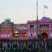 The presidencial palace, or also called the Barbie House..