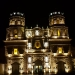 The main square of Cajamarca...