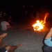 Enjoying a campfire at Belice beach with our Turkish friends.. no wood available? Just take a truck tire :-)